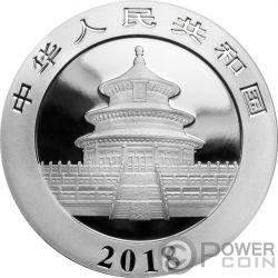 LUNAR DOG Panda Colorized Silver Coin 10 Yuan China 2018