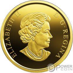 ARMISTICE POPPY Papavero 1 Oz Moneta Oro 200$ Canada 2018