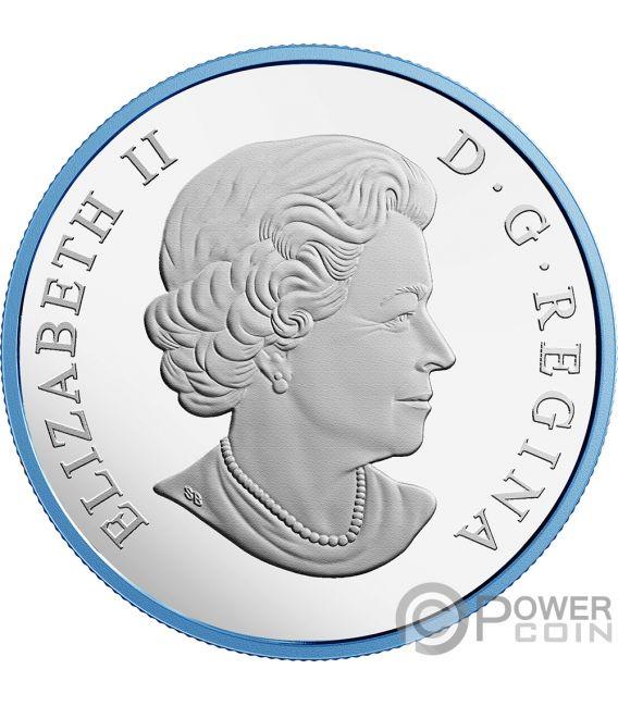 GREAT WHITE SHARK 2 Oz Silver Coin 30$ Canada 2018