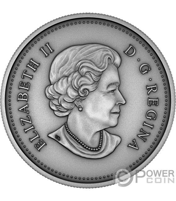 MATRIARCH Elizabeth II 1 Oz Silver Coin 25$ Canada 2018