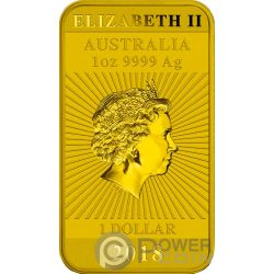 DRAGON Drachen Eingefärbt 1 Oz Silber Münze 1$ Australia 2018