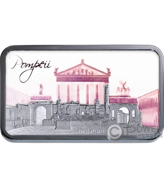 POMPEII Hologram Collection 1 Oz Moneta Argento 2$ Solomon Islands 2018