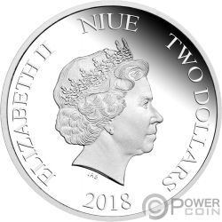 MINION MADE Season Greetings 1 Oz Silber Münze 2$ Niue 2018