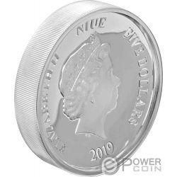 MICKEY MOUSE CLUB Ultra High Relief Disney 2 Oz Silver Coin 5$ Niue 2019
