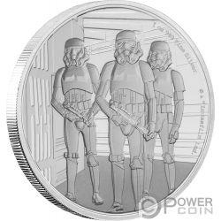 STORMTROOPER Star Wars Classic 1 Oz Серебро Монета 2$ Ниуэ 2019