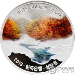 DEOGYUSAN Korean National Parks Moneda Plata 30000 Won Korea 2018
