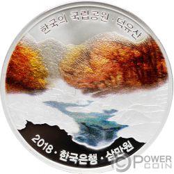 DEOGYUSAN Korean National Parks Moneda Plata 30000 Won South Korea 2018