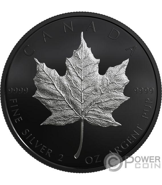 MAPLE LEAF 30th Anniversary Limited Edition 2 Oz Silver Coin 10$ Canada 2019