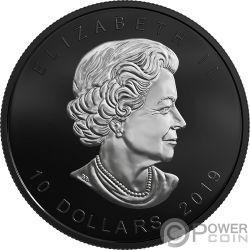 MAPLE LEAF Acero 30 Anniversario Edizione Limitata 2 Oz Moneta Argento 10$ Canada 2019