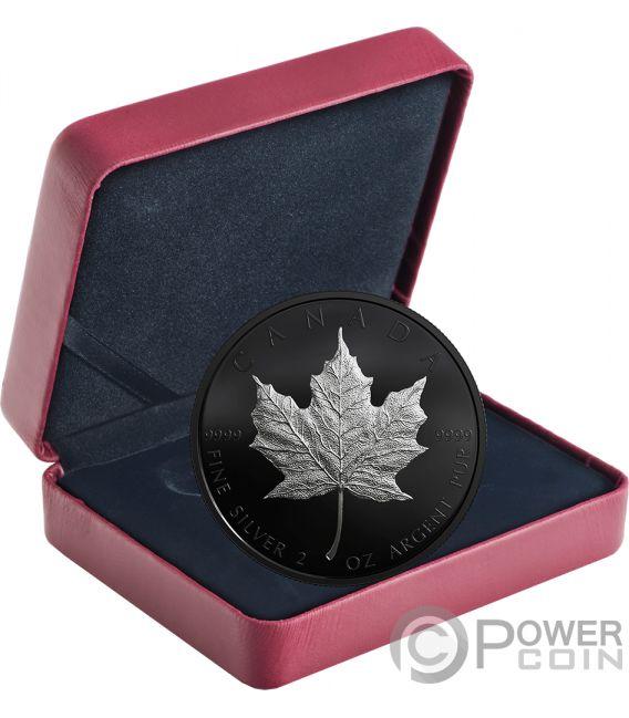 Maple Leaf 30th Anniversary Limited Edition 2 Oz Silver