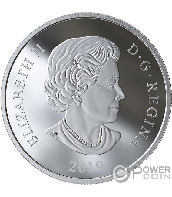 MYSTICAL SNOW DAY 1 Oz Silver Coin 20$ Canada 2019