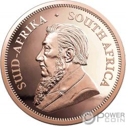 KRUGERRAND 2 Oz Gold Münze 2 Rand South Africa 2019
