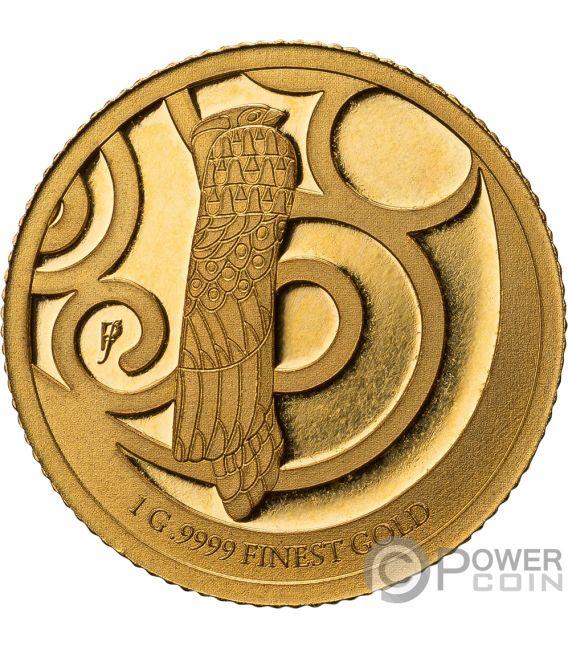 TREE OF LIFE Gustav Klimt Anhänger Gold Münze 10$ Barbados 2018