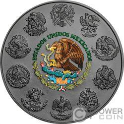 DIA DE LOS MUERTOS Day of the Dead Libertad 1 Oz Silver Coin Mexico 2018