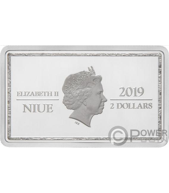 LILIANA Magic the Gathering 1 Oz Silver Coin 2$ Niue 2019