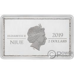 LILIANA Encuentro Magic the Gathering 1 Oz Moneda Plata 2$ Niue 2019