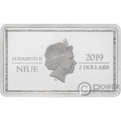 LILIANA Magic the Gathering 1 Oz Silver Coin 2$ Niue 2019