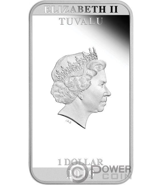 ALIEN 40th Anniversary 1 Oz Silver Coin 1$ Tuvalu 2019