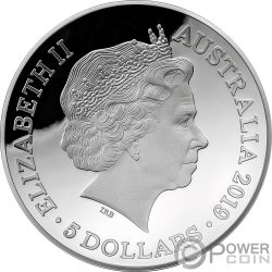 1812 A NEW MAP OF THE WORLD Terrestrial Dome 1 Oz Серебро Монета 5$ Австралия 2019