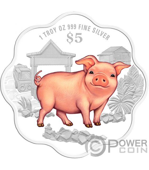 singapore pig coin 2019