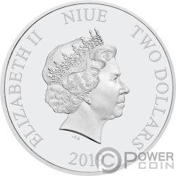 URSULA Meerjungfrau Disney Villains 1 Oz Silber Münze 2$ Niue 2019