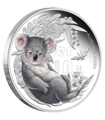 KOALA Bush Babies Silver Proof Coin 50c Australia 2011
