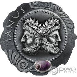 JANUS Amethyst Silber Münze 500 Franken Cameroon 2019