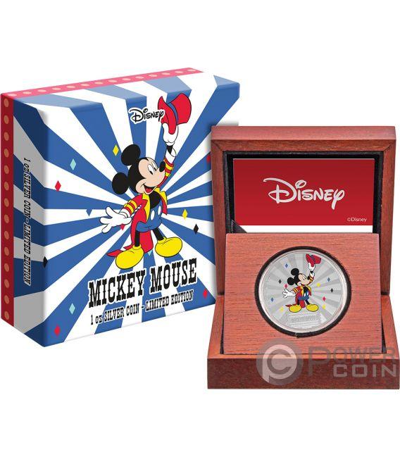 MICKEY MOUSE Friends Carnival Disney 1 Oz Silber Münze 2$ Niue 2019