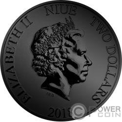 DARTH VADER Figuren Ruthenium Star Wars 1 Oz Silver Coin 2$ Niue 2018