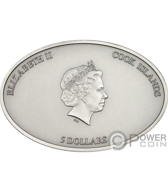 CEILINGS OF HEAVEN Set 3 Monedas Plata 5$ Cook Islands 2012 2013 2014