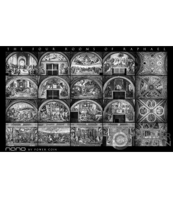 CEILINGS OF HEAVEN Set 3 Monete Argento 5$ Cook Islands 2012 2013 2014