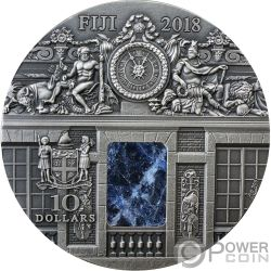 WAR ROOM Schloss Versailles Masterpieces In Stone 3 Oz Silber Münze 10$ Fiji 2018