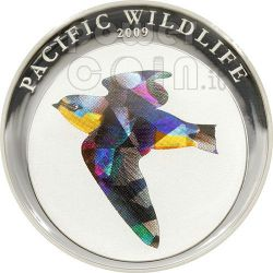 RONDINE Pacific Wildlife Moneta Prisma 5$ Palau 2009