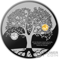 TREE OF LIFE Silver Coin 500 Francs Cameroon 2019