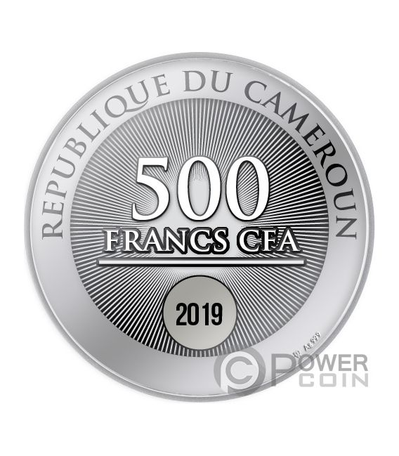 TREE OF LIFE Baum Lebens Silber Münze 500 Franken Cameroon 2019