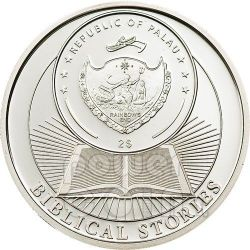 CREATION OF THE WORLD Biblical Stories Серебро Монета 2$ Палау 2011