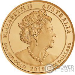 JEWELLED DRAGON Дракон Драгоценность Брильянты 10 Oz Монета  Золото 2000$ Австрия 2019