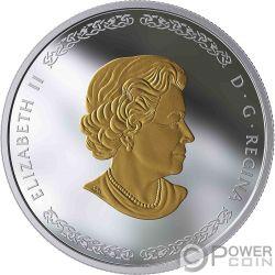 THOR Norse Gods 1 Oz Moneda Plata 20$ Canada 2019