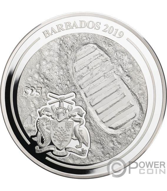 Moon Landing Apollo 50th Anniversary 1 Kg Kilo Silver Coin