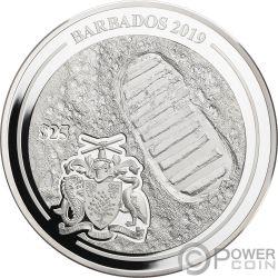 MOON LANDING Apollo 50th Anniversary 1 Kg Kilo Серебро Монета 25$ Барбадос 2019