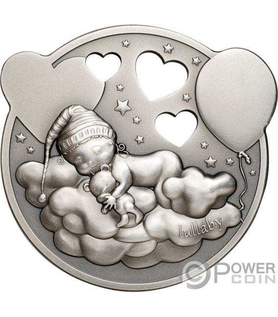 LITTLE PRINCESS Kleine Prinzessin Junge Träumend 1 Oz Silber Münze 5$ Cook Islands 2019