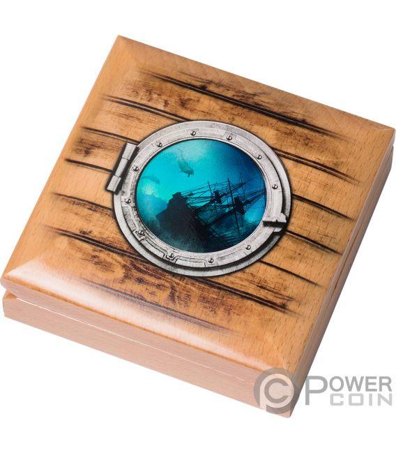 ANCHOR Anker Fair Winds 2 Oz Silber Münze 10$ Cook Islands 2019