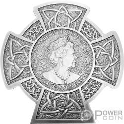 MANANNAN Erster König von Mann 3 Oz Silber Münze 5£ Isle of Man 2019
