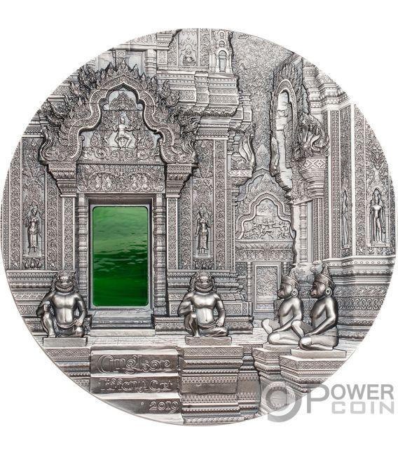 TIFFANY ART Angkor 1 Кг Монета Серебро 50$ Палау 2019