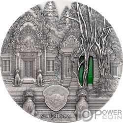 TIFFANY ART Angkor 1 Kg Kilo Moneta Argento 50$ Palau 2019