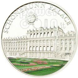 CASTELLO DI SCHONBRUNN Vienna World Of Wonders Moneta Argento 5$ Palau 2011