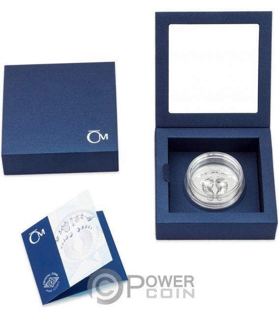 NEWBORN BABY 1 Oz Silver Coin 2$ Niue 2019