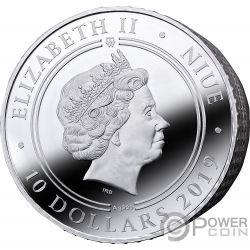 COLOSSEUM Kolosseum Ave Caesar 4 Oz Silber Münze 10$ Niue 2019