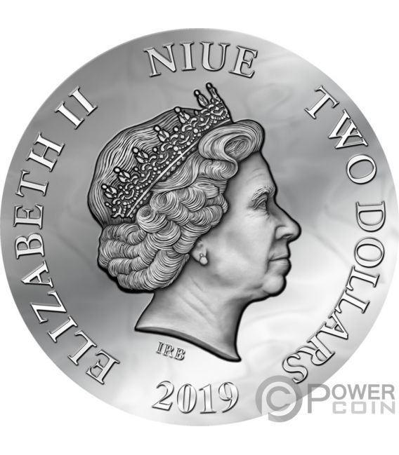 EVANESCA Dark Beauties Silver Coin 2$ Niue 2019