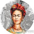 FRIDA KAHLO Legendary Woman 1 Oz Silver Coin 1000 Francs Cameroon 2019